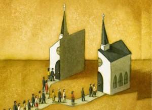 """""""La iglesia ya estaba dividida antes del comienzo de la Reforma"""""""